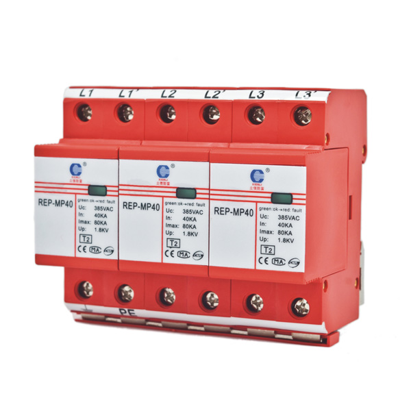 Power Surge Protector (Class C / Type 2)