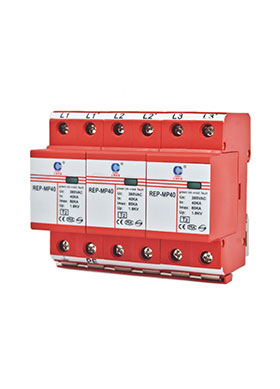 Power Surge Protector (Class B+C / Type T1+T2)